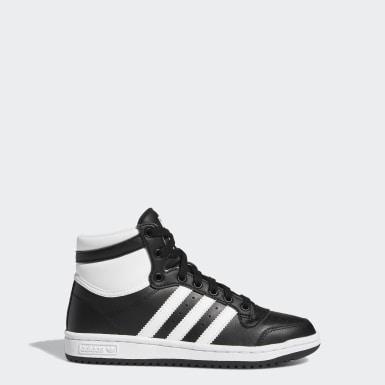 Παιδιά Originals Μαύρο Top Ten Hi Shoes