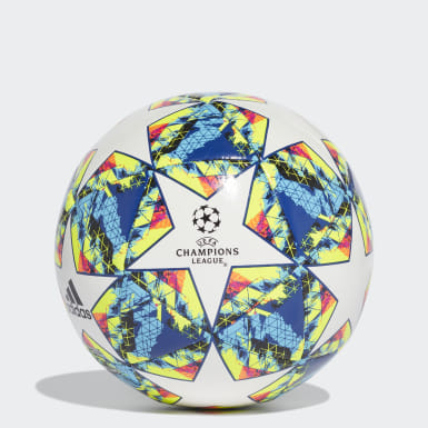 Men Football White UCL Finale 19 Capitano Ball