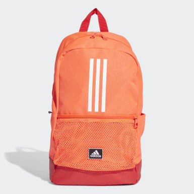 Tennis Orange Classic 3-Stripes rygsæk