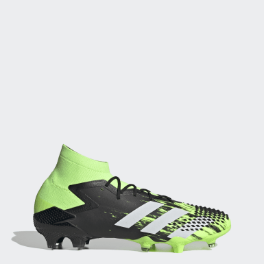 Men Soccer Green Predator Mutator 20.1 Firm Ground Cleats