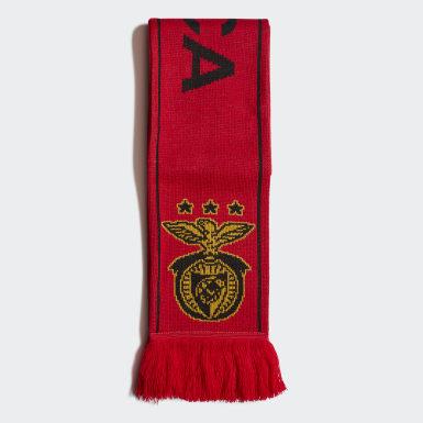 Fotboll Röd Benfica Scarf