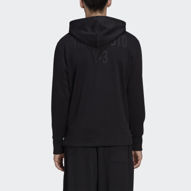Men Y-3 Black Y-3 CH2 Graphic Hoodie