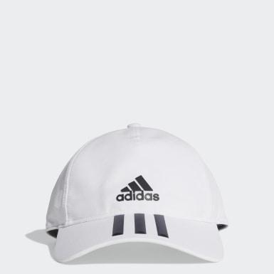 белый Бейсболка для фитнеса C40 3-Stripes