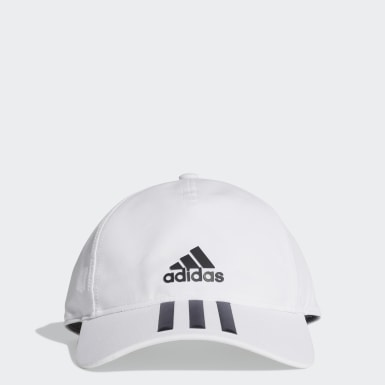 Training White C40 3-Stripes Climalite Cap