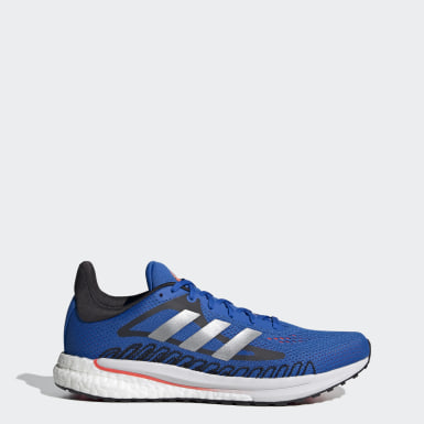 Men Running Blue SolarGlide Shoes