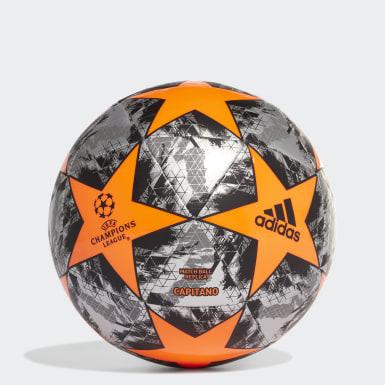 Men Football Orange UCL Finale 19 Capitano Ball