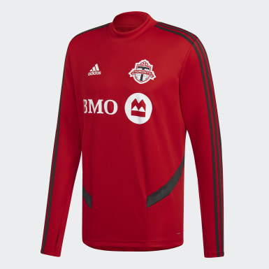 Men Soccer Red Toronto FC Training Top