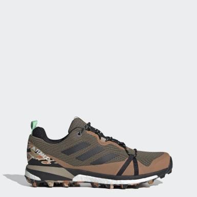 Zapatillas de Senderismo Terrex Skychaser LT GORE-TEX Verde Senderismo