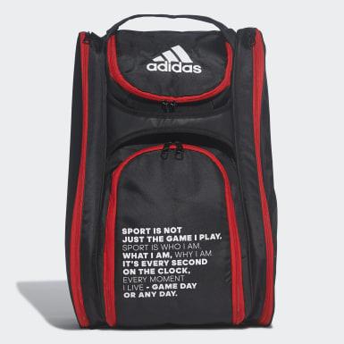 Padel-Tennis Multigame Schlägertasche Schwarz