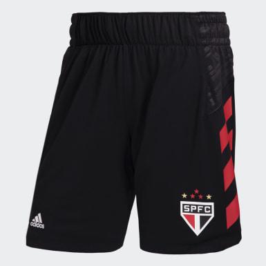 SPFC Away Short Preto Homem Basquete