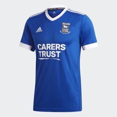 Voetbal Blauw Ipswich Town FC 20/21 Thuisshirt