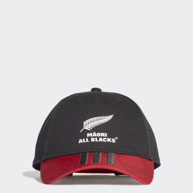Gorra Māori All Blacks Negro Rugby