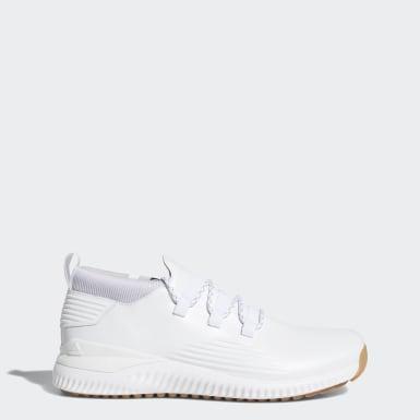 Men Golf White Adicross Bounce Mid Shoes