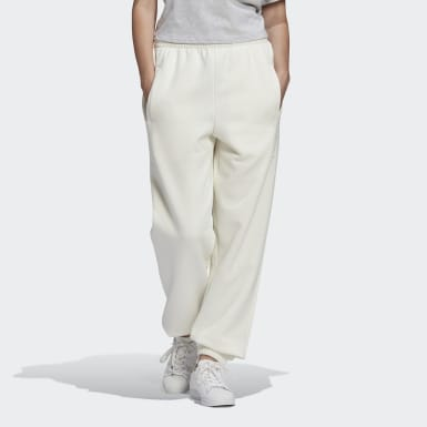 Women Originals White Cuffed Pants