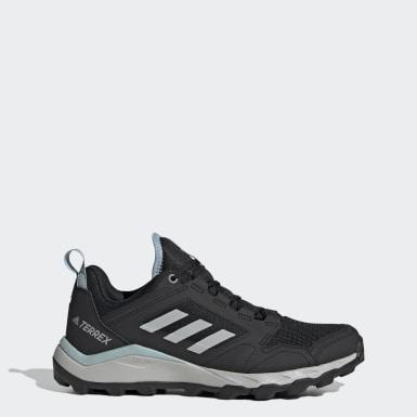 ผู้หญิง TERREX สีดำ รองเท้าวิ่งเทรล Terrex Agravic TR
