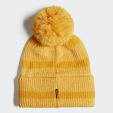Bonnet Chunky jaune Enfants Entraînement