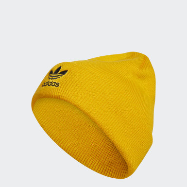Originals Yellow Trefoil Beanie