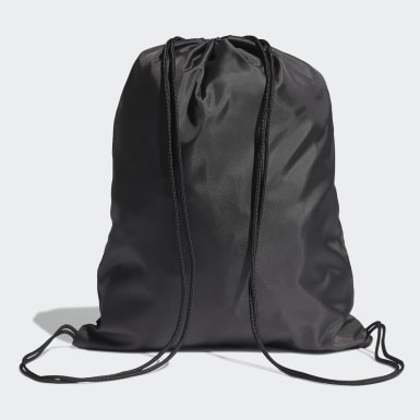 Lifestyle Black Essentials Logo Gym Sack