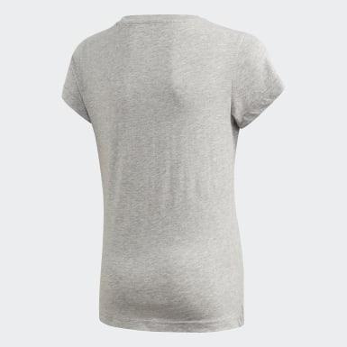 T-shirt Essentials Linear Gris Filles Athletics