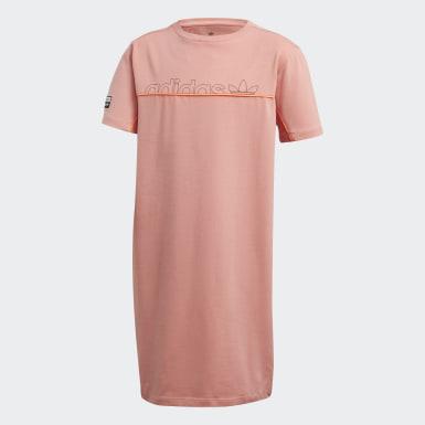 Dívky Originals růžová Šaty