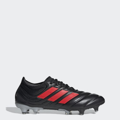 Football Black Copa 19.1 Firm Ground Boots