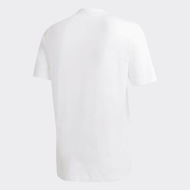 Boys Football White FC Bayern Super Cup T-Shirt