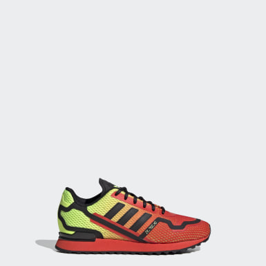 Children Originals Yellow ZX 750 HD Shoes