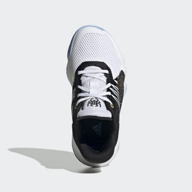 Kinder Basketball D.O.N. Issue #1 Schuh Weiß