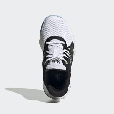 Children Basketball White D.O.N. Issue #1 Star Wars Lightsaber Shoes