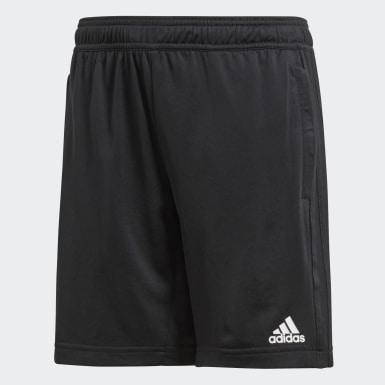 Shorts de Entrenamiento Condivo 18 Negro Niño Fútbol