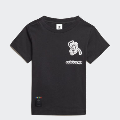 T-shirt Sport Goofy Noir Enfants Originals