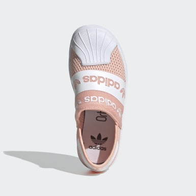 розовый Кроссовки-слипоны Superstar SMR 360