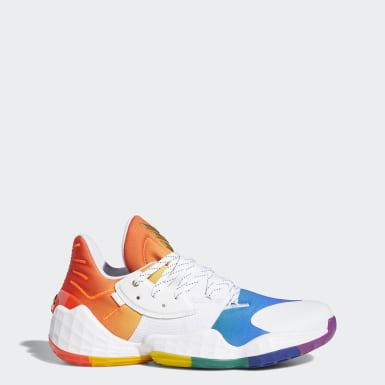 Basketbal bílá Obuv Harden Vol. 4 Pride