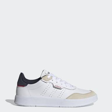 Sapatos Courtrook Branco Ténis