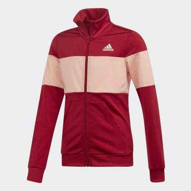 Pants Con Sudadera Yg Pes Ts Burgundy Niño Sport Inspired