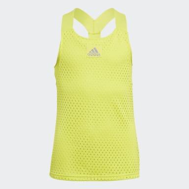 Dívky Tenis žlutá Tílko HEAT.RDY Primeblue Tennis Y-Tank