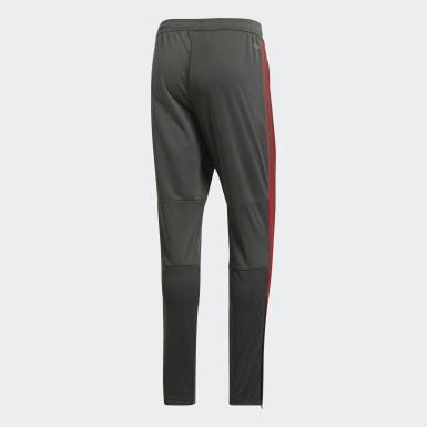 Pantalon d'entraînement FC Bayern Munich Gris Hommes Football