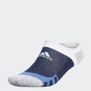 Heren Golf Blauw Tour360 No-Show Sokken