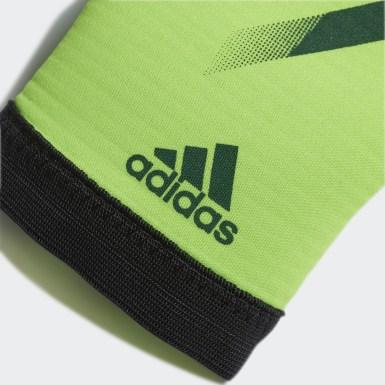 Deti Futbal zelená Brankárske rukavice X 20 Training