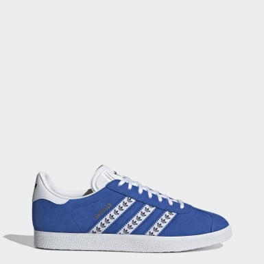 Men's Originals Blue Gazelle Shoes