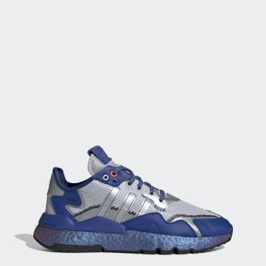Kvinder Originals Blå Nite Jogger sko