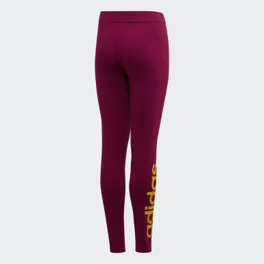 Leggings Essentials Linear Viola Ragazza Athletics