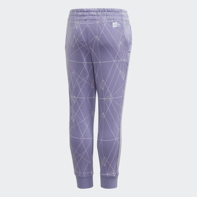 Girls Training Purple Frozen 2 Slim Leg Joggers