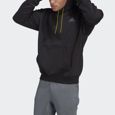 Men Athletics Black adidas Sportswear Mountain Graphic Hoodie