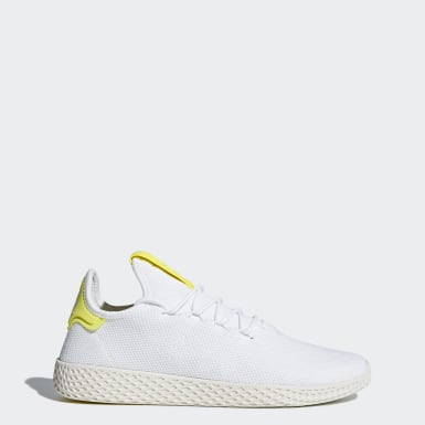 Chaussure Pharrell Williams Tennis Hu Blanc Originals