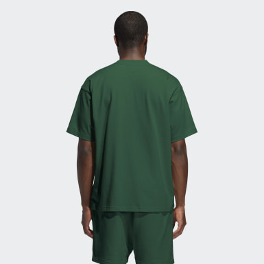 T-shirt Pharrell Williams Basics (Non genré) vert Originals