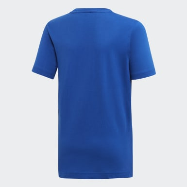 Remera Must Haves Badge of Sport Azul Niño Sport Inspired