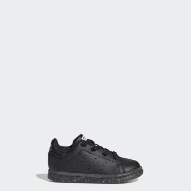 Zapatillas Stan Smith Negro Niño Originals