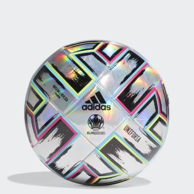 Pallone da allenamento Uniforia Argento Calcio
