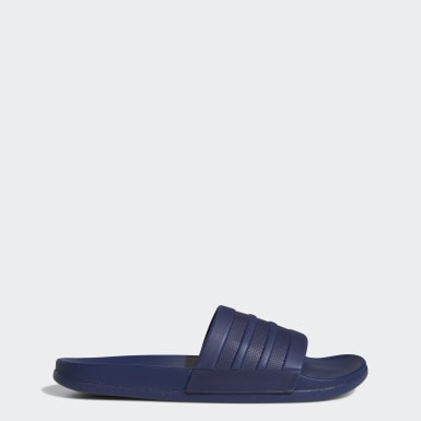 Men's Yoga Blue Adilette Comfort Slides